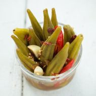 Summer Encore, Chipotle Pickled Okra