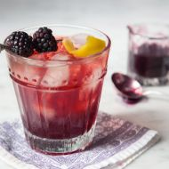Blackberry Manhattans